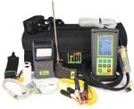 TPI 716 Flue Gas Analyser Kit 2 with 2 x Pipe Clamps (716-KIT2)